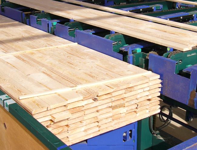 Schnittholzsortierung