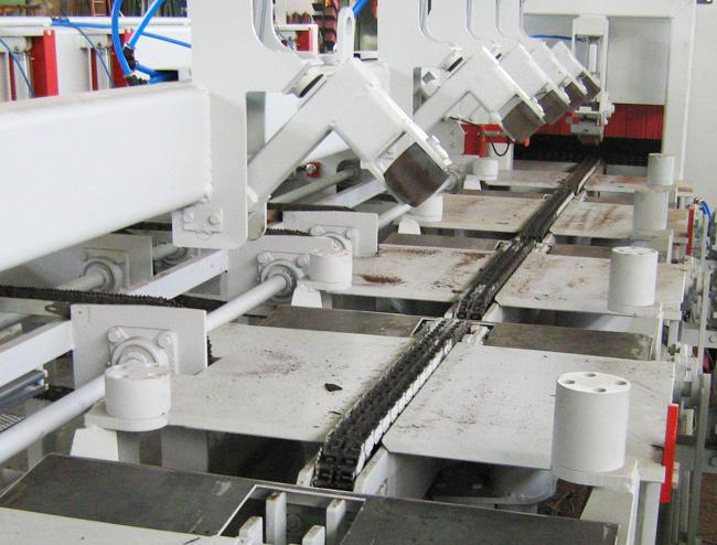 Zuschnitttechnik Autojet Sägewerk