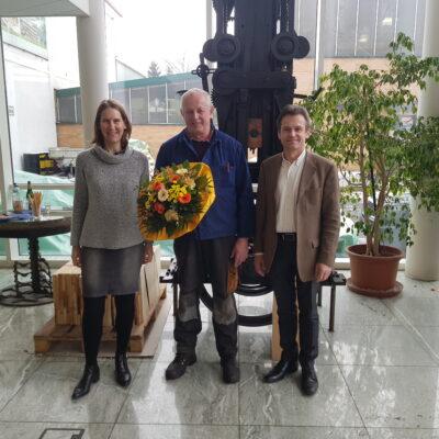 Verabschiedung in den Ruhestand von Georg Scheubel
